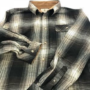 Legendary Whitetails Shirts - Legendary Whitetails Men's Buck Camp Flannel Shirt
